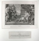 Hogarth Engraving MOSES BEFORE C 1838