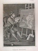 Hogarth Engraving Dated 1838 WILLIAM HOGARTH
