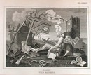 Hogarth Engraving Dated 1838 THE BATHOS