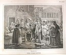 Hogarth Engraving Dated 1838 THE FIRE EATER