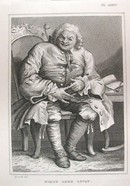 Hogarth Engraving Dated 1838 SIMON LORD LOVAT